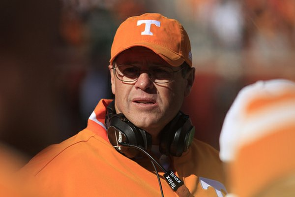 Jim Chaney, who spent the last four seasons at Tennessee, will earn $550,000 annually at Arkansas.