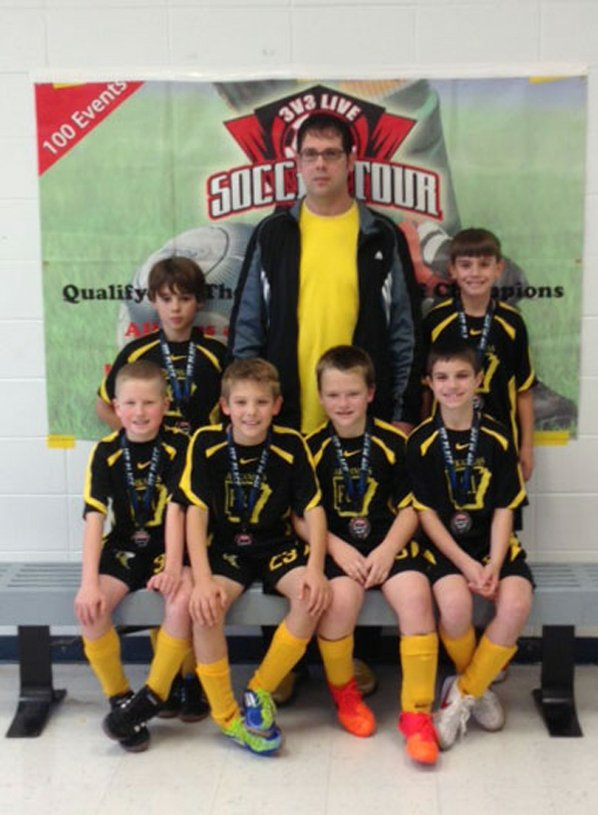 The U10 Yellow Jackets 3V3 ...