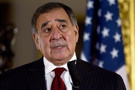 this-jan-19-2013-file-photo-shows-defense-secretary-leon-panetta-speaking-during-a-news-conference-in-london-panetta-has-removed-us-military-ban-on-women-in-combat-opening-thousands-of-front-line-positions
