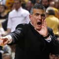 South Carolina coach Frank Martin calls out during his team's NCAA college basketball game against M...