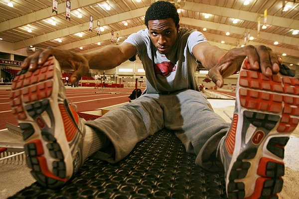 Tarik Batchelor, a 2011 NCAA indoor champion, is back after missing last season with a ruptured patella tendon.