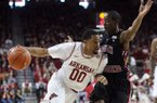 Rashad Madden, pictured in a file photo from the 2012 matchup with South Carolina, was suspended for this season's game against the Gamecocks on Saturday, Jan. 26, 2013.