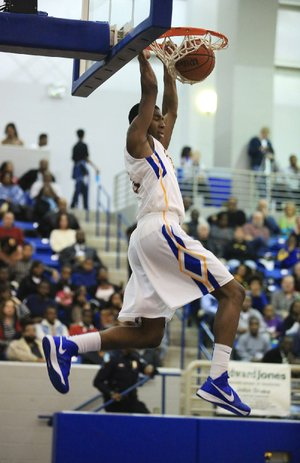 North Little Rock's Thomas Alexander scored 10 of his 15 points in the first 3:08 of Friday's victory over Little Rock Central. The Charging Wildcats made 32 of 63 shots from the floor while picking up their 16th consecutive victory.