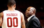 Mike Anderson said Rashad Madden will return from a one-game suspension Thursday at Alabama.