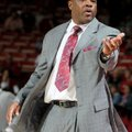 Mike Anderson, Arkansas head basketball coach, will have to find a way to cure the Razorbacks road w...