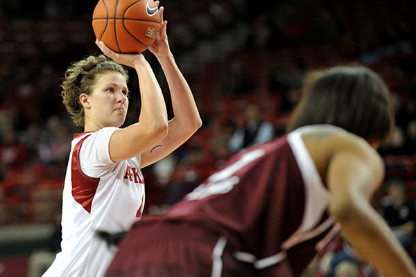 Sarah Watkins, pictured in an earlier game, scored a career-high 28 points at Ole Miss on Thursday.