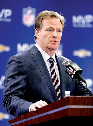 NFL Commissioner Roger Goodell told reporters Monday at a news conference that the Superdome had a backup power system that was about to be used during the Super Bowl's electrical failure that lasted 34 minutes. It wasn't needed because power started coming back on, he said.