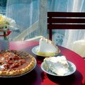 The menu at Parks Purity Pie Company shifts daily and also reflects seasonal fruit availability. Off...