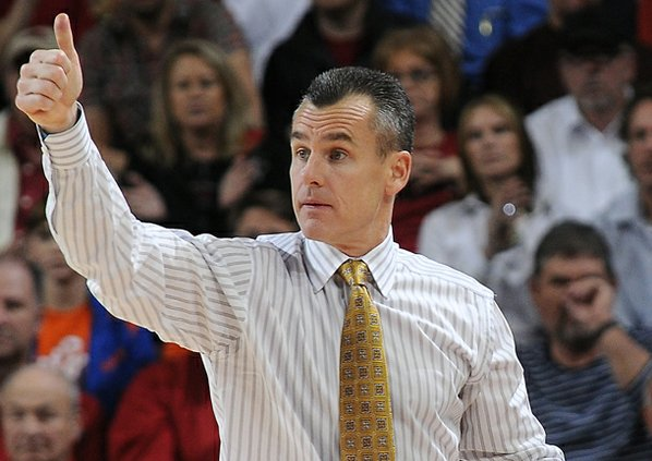 Florida's Billy Donovan, head coach, ...