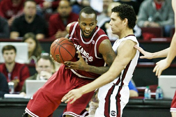 Marshawn Powell (left) has struggled to stay out of foul trouble in road games this season.