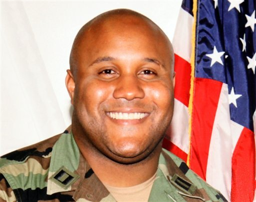 this-undated-file-photo-provided-by-the-los-angeles-police-department-shows-suspect-christopher-dorner-a-former-los-angeles-police-officer-a-law-enforcement-official-tells-the-associated-press-tuesday-feb-12-2013-that-a-charred-body-inside-the-ruins-of-a-mountain-cabin-that-went-up-in-flames-is-believed-to-be-that-of-dorner-suspected-in-four-killings-other-agencies-say-a-body-has-yet-to-be-found