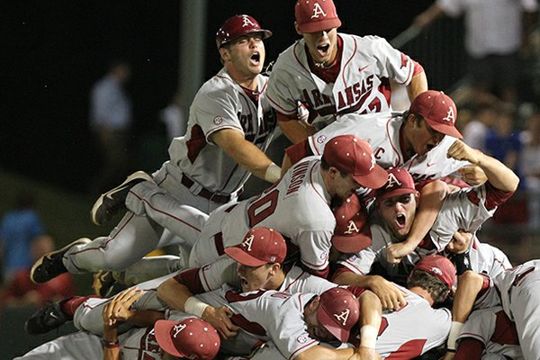 Arkansas is No. 1 entering the 2013 season after advancing to the College World Series last year.