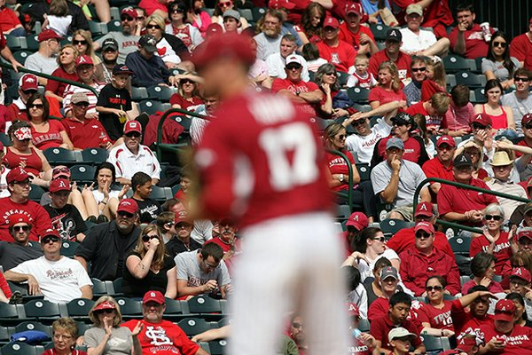 Arkansas sold 6,531 season tickets to Baum Stadium.