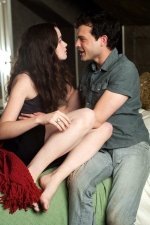Lena (Alice Englert) and Ethan (Alden Ehrenreich) are young lovers with supernatural powers in Beautiful Creatures.