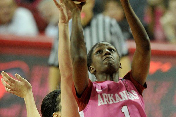 Keira Peak and Arkansas will host Tennessee on Sunday.