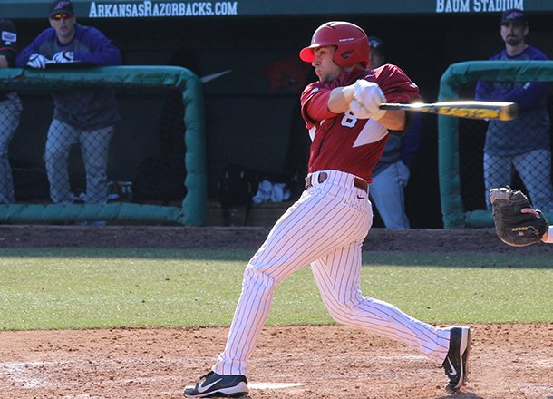 tyler-spoon-hits-a-grand-slam-home-run-during-the-eighth-inning-of-a-game-against-evansville-on-saturday-feb-23-2013-at-baum-stadium-in-fayetteville