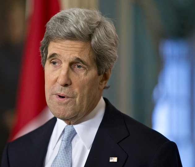 file-in-this-feb-8-2013-file-photo-secretary-of-state-john-kerry-speaks-at-the-state-department-in-washington-kerry-said-wednesday-he-has-some-ideas-on-how-to-change-syrian-president-bashar-assads-calculation-on-remaining-in-power-and-will-raise-them-with-european-and-mideast-leaders-on-his-first-official-overseas-trip-later-this-month