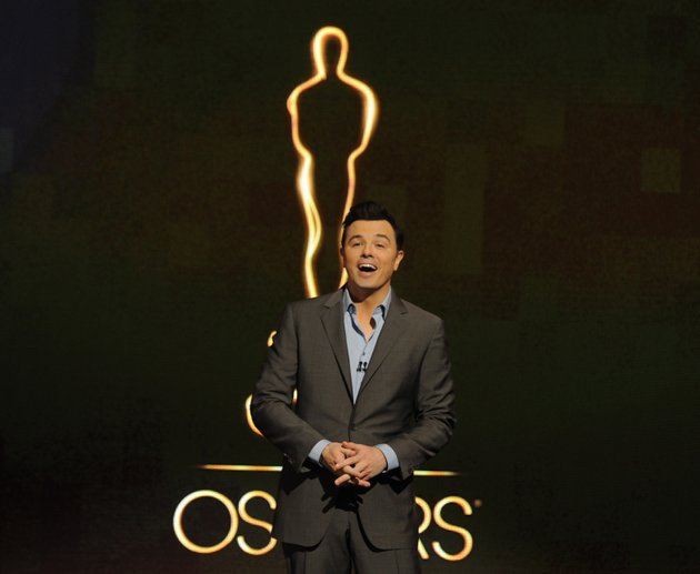 file-in-this-jan-13-2013-file-photo-2013-oscar-host-seth-macfarlane-presents-the-academy-nominations-for-the-85th-academy-awards-in-beverly-hills-calif-macfarlane-may-bring-a-cheekiness-to-sundays-show-that-prods-younger-viewers-to-check-out-the-oscars-just-to-see-what-he-might-pull-the-85th-academy-awards-will-be-held-in-los-angeles-on-feb-24-2013