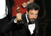 Ben Affleck accepts the award for best picture for Argo during the Academy Awards at the Dolby Theatre on Sunday in Los Angeles.