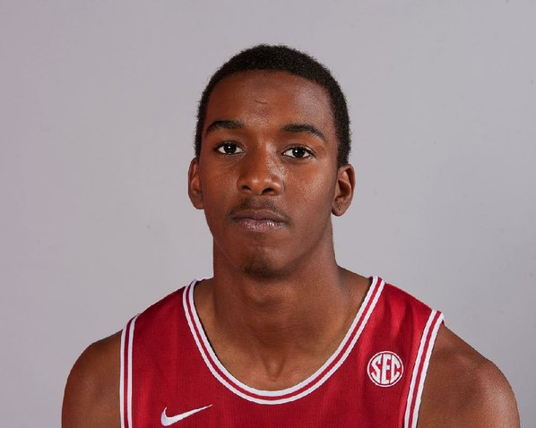 Arkansas sophomore guard BJ Young's ...