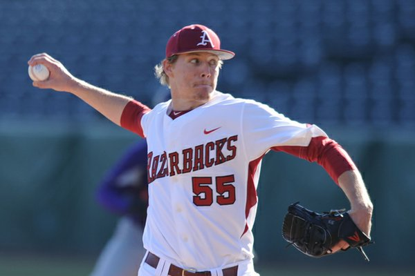 Arkansas junior pitcher Ryne Stanek will start the first game of the Coca-Classic against Arizona State.