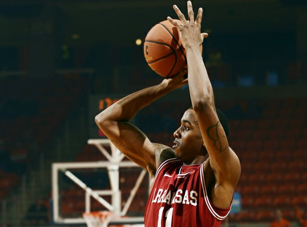 Arkansas guard BJ Young leads ...