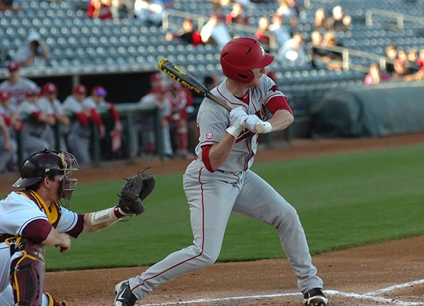 arkansas-outfielder-matt-vinson-watches-a-called-strike-three-in-the-second-inning-of-the-razorbacks-3-2-loss-to-arizona-state-on-thursday-at-surprise-stadium
