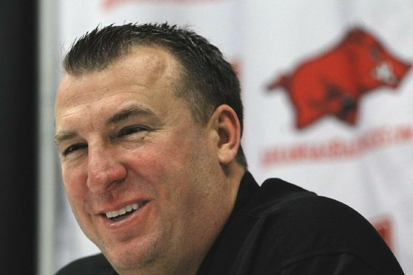 The top-paid state employee is Bret Bielema, head football coach at the University of Arkansas at Fayetteville. His salary is $3.2 million this fiscal year.