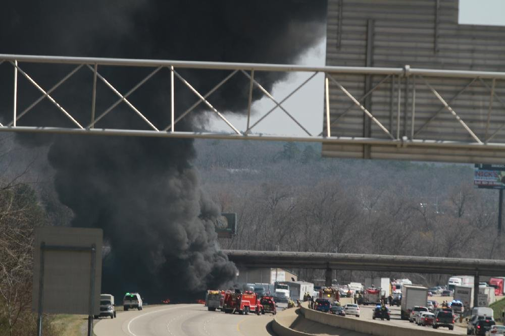 Fatal semi wreck blocks I-40 west, snarls traffic through rush hour