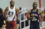 Arkansas sprinter Akheem Gauntlett was one of 31 athletes named to the USTFCCCA all-America team on Monday.