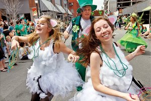Parades. Public houses. Partying. All will be on tap — awash in green — this weekend as St. Patrick's Day paints central Arkansas the color of the Emerald Isle, but hopefully, with less rain.