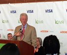 Former President Bill Clinton speaks at the Clinton Presidential Center on Friday, March 15. Clinton