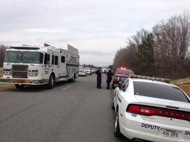 authorities-respond-to-an-oil-spill-in-mayflower-near-lake-conway