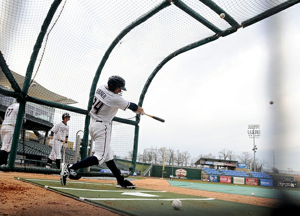 Northwest Arkansas Naturals outfielder and ...