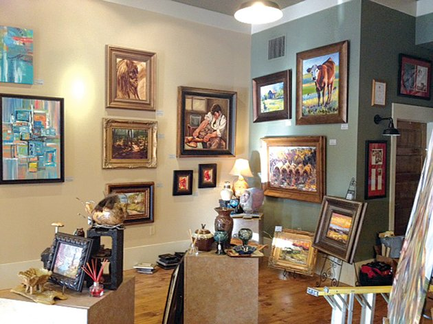 a-group-of-artists-from-maumelle-recently-added-a-new-coat-of-paint-and-a-fresh-set-of-paintings-to-the-ellen-hobgood-associates-gallery-in-heber-springs-the-updates-came-just-in-time-for-2013-springfest-scheduled-for-april-26-and-27
