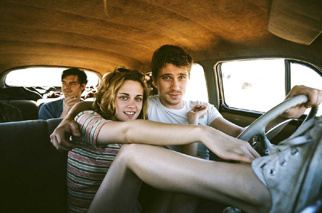 with-sal-paradise-sam-riley-in-the-backseat-of-their-voluminous-hudson-hornet-marylou-kristen-stewart-and-dean-moriarty-garrett-hedlund-light-out-for-the-territory-in-walter-salles-on-the-road