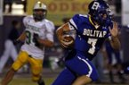 Bolivar, Mo. quarterback Rafe Peavey is committed to Arkansas.