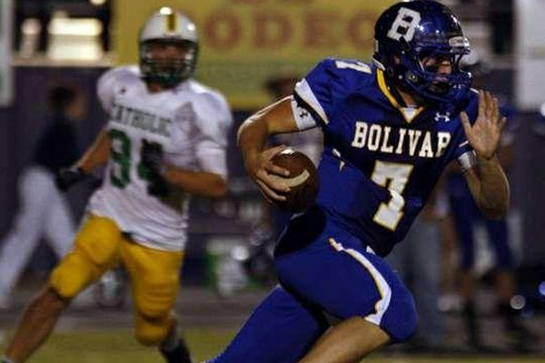 Bolivar quarterback Rafe Peavey was Arkansas' first commitment of the 2014 class.