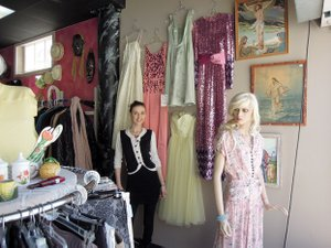 Shopping at thrift stores can offer a plethora of fashionable options at an affordable price, as demonstrated by Amber Jackson at Cheap Thrills in Fayetteville.