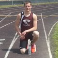 Kevin Parish, a senior at Gentry, excels in many track and field events, but has the top time 100-me...