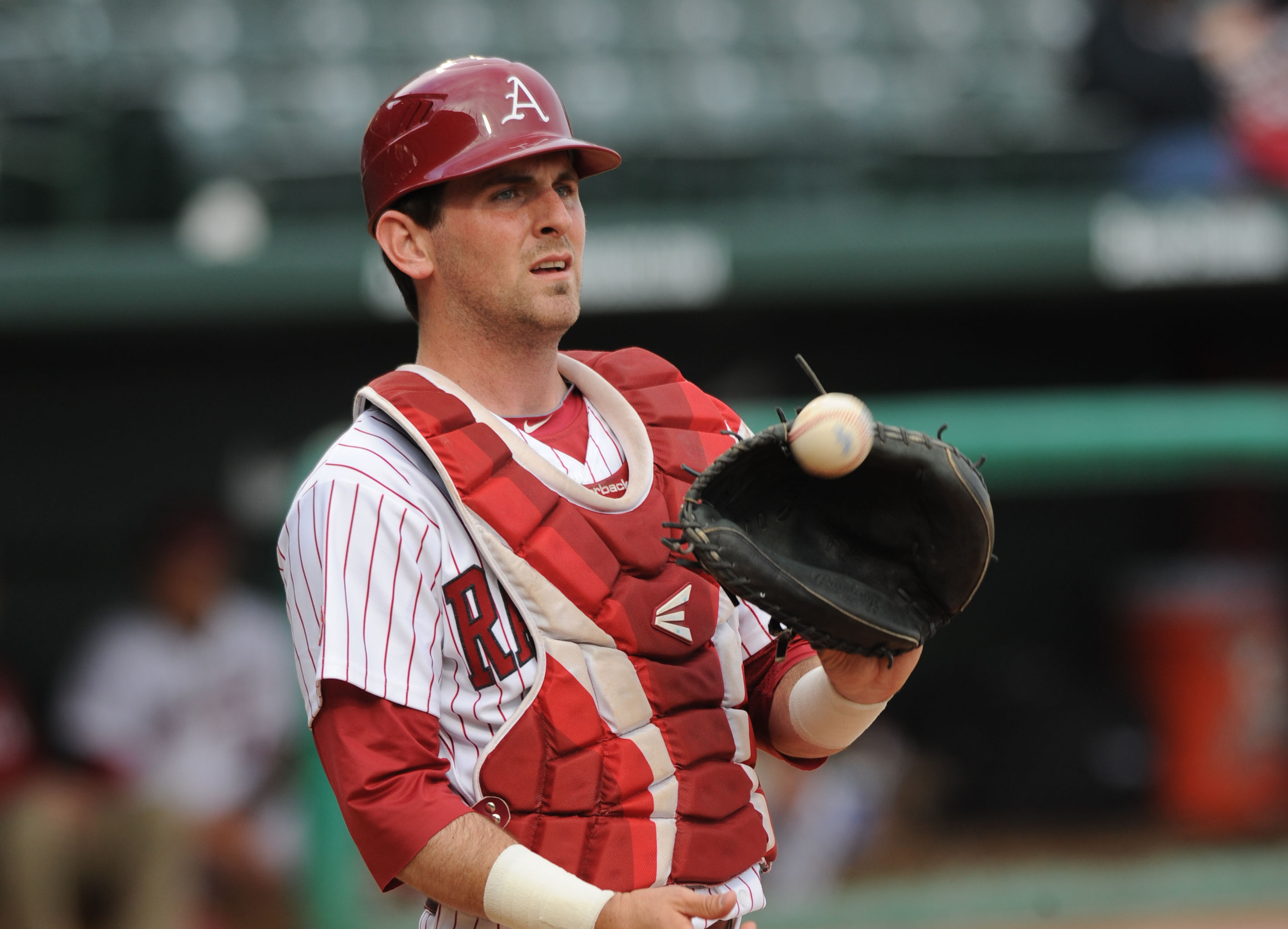 Arkansas scores on play at plate | NWADG