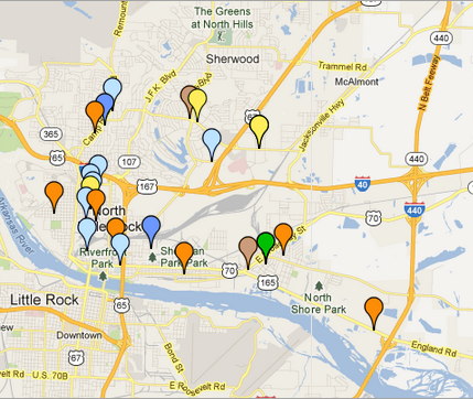 this-screenshot-from-the-north-little-rock-crime-map-shows-the-latest-reports