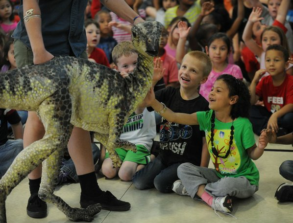 Kindergarten students (above) Jasmine Lehman, ...