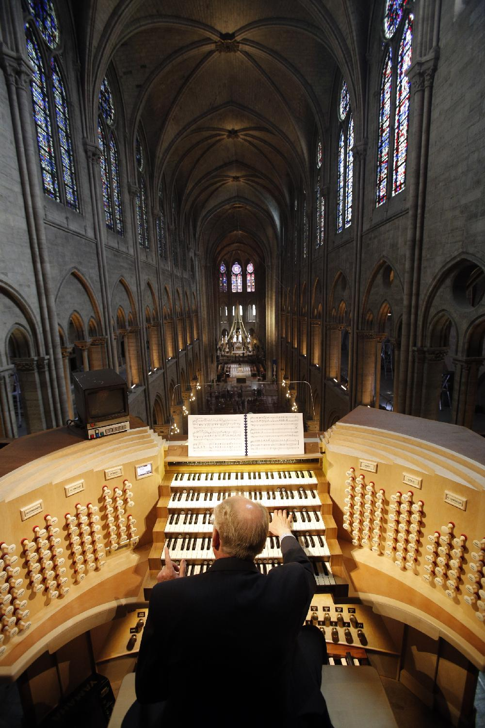 notre dame organ soars with history nwadg
