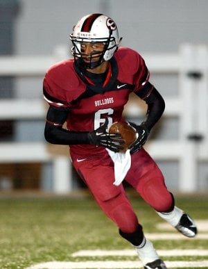 Deandre Murray, a Springdale High running back, broke onto the scene as a junior, rushing for 1,443 yards and 17 touchdowns in his first season with the Bulldogs.