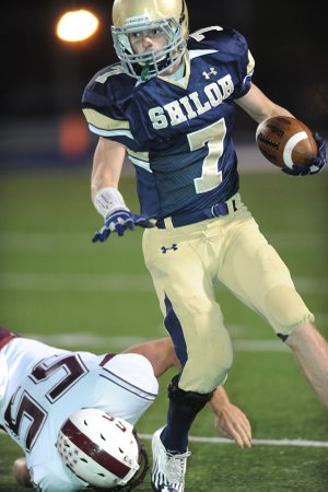Chandler Smith, Shiloh Christian rising junior, will return to lead the Saints' offense. Smith is one of a host of returning skill position players for the Saints as they head into their second season in the 5A-West Conference.