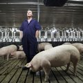 ason Henson, a co-owner of C&H Hog Farms in Newton County, in a May 2013 file photo.