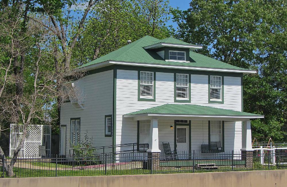 FILE — The President William Jefferson Clinton Birthplace
