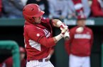 Arkansas catcher Jake Wise and the Razorbacks will face Ole Miss or Kentucky at 9:30 a.m. Wednesday in the SEC Tournament in Hoover, Ala.