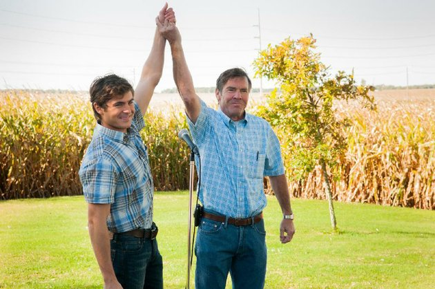 dean-whipple-zac-efron-and-father-henry-dennis-quaid-share-a-brief-moment-of-triumphalism-in-at-any-price